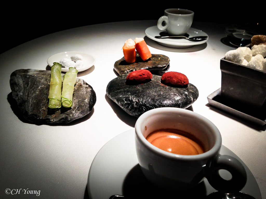 Mignardises and Espresso