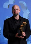 "David Ridgen wins 2007 Gemini for Best Director of a Documentary Program for ""Mississippi Cold Case."" (Photo courtesy of Academy of Canadian Cinema and Television ©2007)"