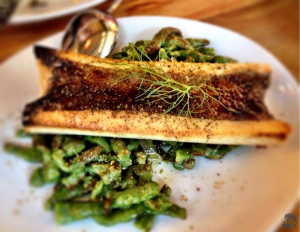 Roasted Bone Marrow at Bestia