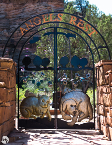 Entrace to Angels Rest