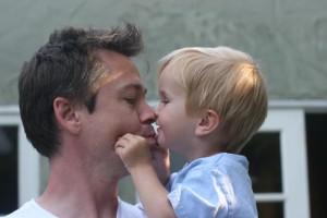 Chester and son Henry. (Photo joansonthird.com.)