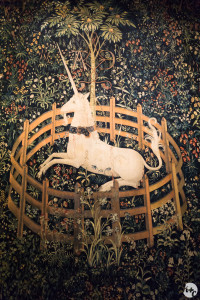 The Unicorn in Captivity (The Hunt of the Unicorn)
