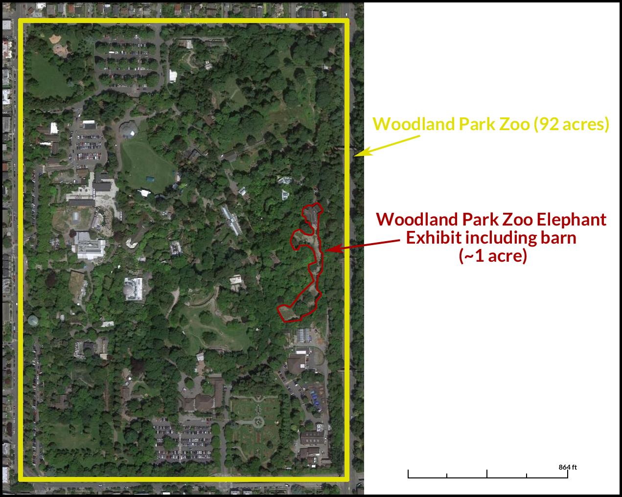 Woodland Park Zoo (92 acres)