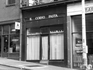 Il Corvo in Pioneer Square.