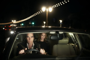 Nick Cave + Kylie Minogue in 20,000 Days on Earth. (Photo courtesy Drafthouse Films.)