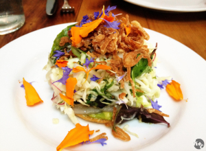 Hamachi Tostada at Animal