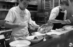 Chefs at work at SPQR