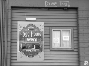Dog House Tavern: our local while staying in Kanab.