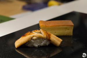 Eel and Egg - the perfect dessert